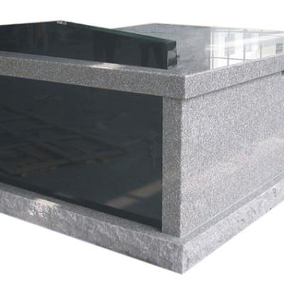 double gray mausoleum