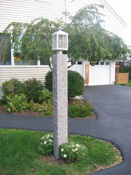 Caledonia lamp poste
