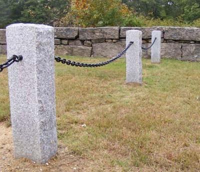 Gray fence posts 2