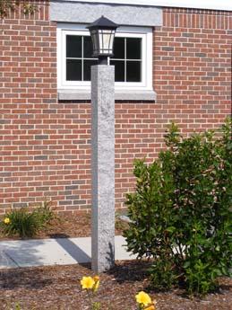 Gray lamp post 3