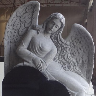 Reclining Angel over Heart