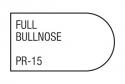 full bullnose